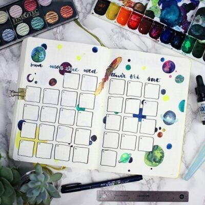 August Bullet Journal Inspiration: 30 Themes Worth Trying