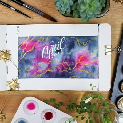 30+ April Bullet Journal Ideas – Themes to Brighten Your Month