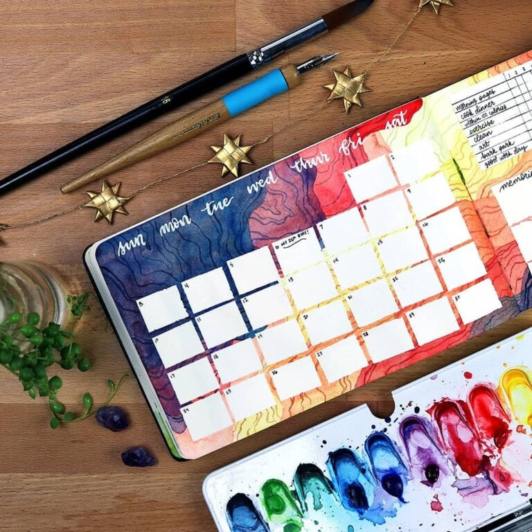 30 June Bullet Journal Setups – Fun Pages To Try