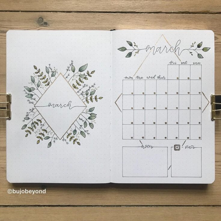 30 March Bullet Journals Prepare For Spring 2020 Littlecoffeefox I know you want to draw some holiday inspiration, and need some tropical bullet journal spread inspiration! 30 march bullet journals prepare for
