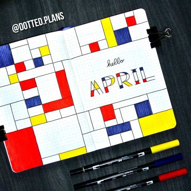 Be inspired by Mondrian