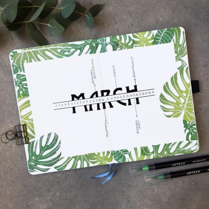30 March Bullet Journals Prepare For Spring 2020 Littlecoffeefox Your favourite piece from our refreshed classic collection? 30 march bullet journals prepare for