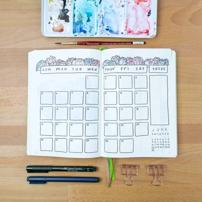 May Bullet Journals – 30 Spreads to Inspire You