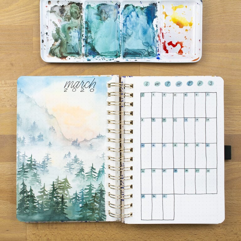 30 March Bullet Journals – Prepare for Spring (2021)