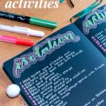 50+ Isolation Activities Pin