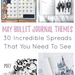 May Bullet Journal Themes Cover Photo & Pin