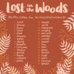 Lost In The Woods Inktober Prompt List