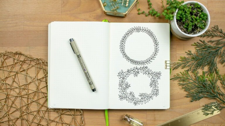 How to Draw a Wreath — Complex Patterns Made Simple