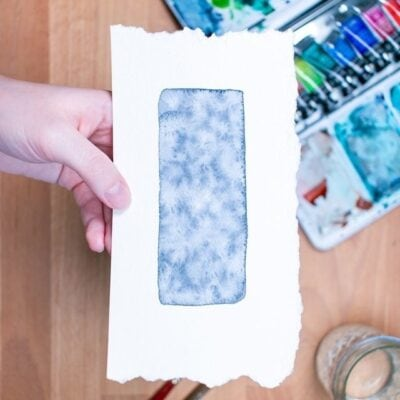 Easy Watercolor Textures You Can Make