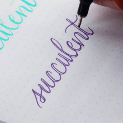 5 Hand Lettering Tips for Beginners