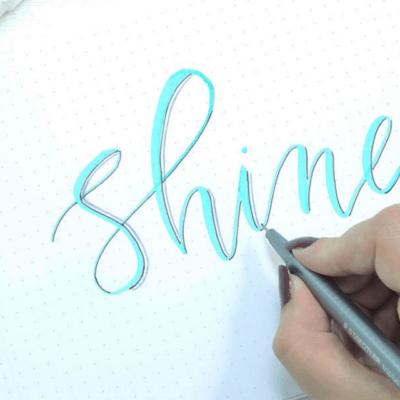 3D Hand Lettering Tutorial