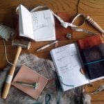 How to be a better hobbyist with the bullet journal leather craft supplies | Littlecoffeefox.com