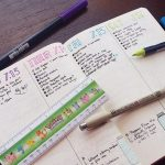 Daily entries in the bullet journal are a huge aspect of many people