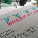 Summer Bucket List Bullet Journal | Littlecoffeefox.com