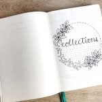 Keeping a collections journal outside of your bullet journal has lots of benefits. It