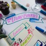 Whether you want to make better banners for your bullet journal, planner, doodles, notes, or something else, this tutorial will tell you exactly how to draw a banner with great ease. All it takes are a few simple principles put into action and you are all set to create gorgeous banners to your heart