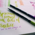 In order to really see a definable style emerge as you begin playing with brush pens, you need to master this one brush lettering technique. What